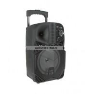 "Колонка портативная 8"" BT1839 (Bluetooth/USB /microSD) черная"