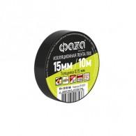 Изолента Фаzа TP-1510 черный