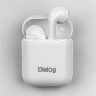 Гарнитура Bluetooth Dialog ES-25 (вакуумные наушники) белые (102562)