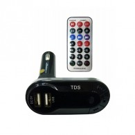 MP3 FM модулятор автомоб. KTS KCB-618 (Bluetooth, USB)