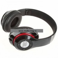 Наушники-плеер S680 черные (Fm, microSD,Bluetooth)