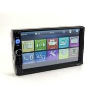 """Автомагнитола 2 дин 7"""" (AVI,MP3, bluetooth, microSD) 7010B посад.место 13см"""