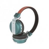 Наушники-плеер Eltronic 4464 (microSD, Bluetooth) темно-бирюзовые