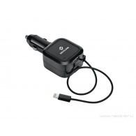 АЗУ Neoline для IPhone5 (автосмотка)+USB (3500mAh) Volter R8