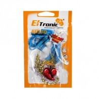 Наушники Eltronic синие вакуумные (4439)
