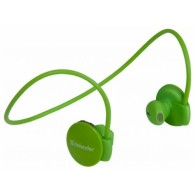 Bluetooth гарнитура Defender B611 зеленая (63611)
