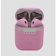 Гарнитура Bluetooth Q9L розовая