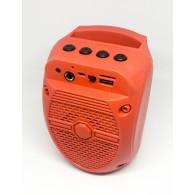 Колонка портативная ZQS-1308 (Bluetooth/USB /microSD) крас