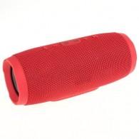 Мини-колонка CH3 (Bluetooth\MicroSD) красная