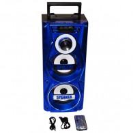 Колонка портативная MS-106BT (Bluetooth/USB /SD/FM) син