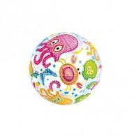 """Мяч надувной пляжный """"Узоры"""", D=51см (589357)"""