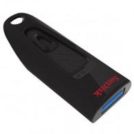 Флэш-диск SanDisk 64GB USB 3.0 CZ48 Cruzer Ultra черный