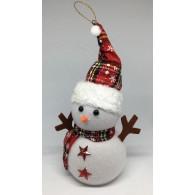 Снеговик с подсветкой средний (3*R03)