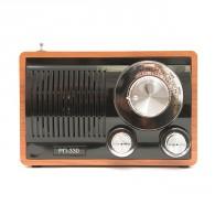 Радиоприемник БЗРП РП-330 (УКВ,СВ,КВ, USB,microSD, BT, 220v,3*R20)