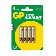 Батарейка GP LR03 Super Alkaline BL 4/40/320