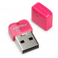 Флэш-диск SmartBuy 4GB USB 2.0 ART розовый