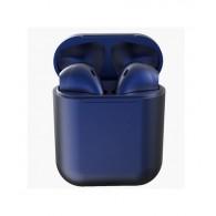 Гарнитура Bluetooth TWS Pods 12 синяя