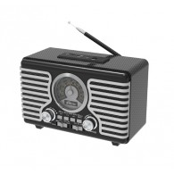 Радиоприемник Ritmix RPR--095 (Fm/USB/microSD|220V/2*R20)