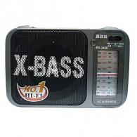 Радиоприемник RS-2400 (акб\2*R20) RRS черный (12х18х7см)