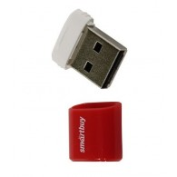 Флэш-диск SmartBuy 32GB USB 2.0 Lara красный