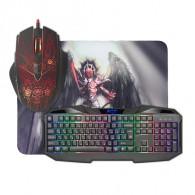 Комплект Defender Anger (клавиатура+мышь+коврик) игровой проводной
