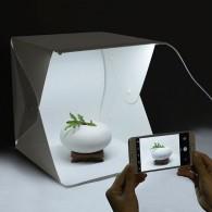 Фотобокс с LED освещением 30х30х30см (питание от microUSB, кабель не в компл)