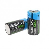 Аккумулятор Robiton R20 5000mAh BL2 предзаряж