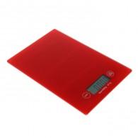 Весы кухонные до 5кг, 2 ААА красные (1201508)