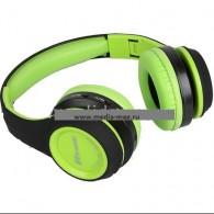Наушники-плеер Eltronic 4456 (Fm, microSD) зеленые