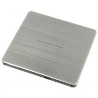 Внешний DVD-RW USB-привод LG GP80NS60 USB2.0 серебро