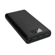 Внешний аккумулятор 30000mAh Borofone 3USB, 2A черный BT2D