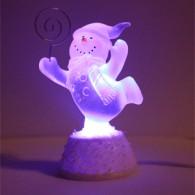 Сувенир USB - Бегущий ледяной снеговик с подсветкой Orient 5063