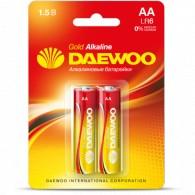 Батарейка Daewoo LR6 Gold BL 2/