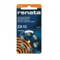 Батарейка Renata ZA13 BL6/60