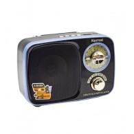 Радиоприемник MD- 308 (FM/BT/USB/220V/акб) синий Kemai
