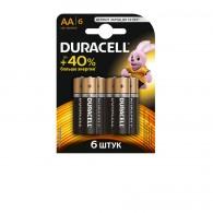 Батарейка Duracell LR6 Basic BL 6/60