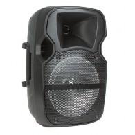 "Колонка портативная 8"" EL8-02ch (Bluetooth/USB /microSD/FM) черная"