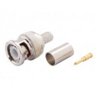 Разъем BNC3 (2шт) для коаксиального кабеля RG-59 обжимной