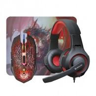 Игровой набор (мышь+гарнитура+коврик) Defender DragonBorn (52003)