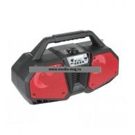 Колонка портативная ZQS-4216 (Bluetooth/USB /microSD/FM/дисплей/подсв красная