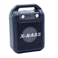Колонка портативная XB-624BT (USB/SD/FM/Bluetooth) черная Waxiba