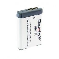Аккумулятор в/к. Relato NB-13L (1000mAh 3,6v) Li-ion для Canon