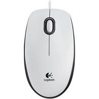 Мышь Logitech М100 USB проводная белая