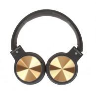 Наушники-плеер Eltronic 4461 (microSD, Bluetooth) золото
