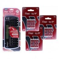 З/у Relato RC-22 (12 АА\ААА,МП, LCD, разряд)+12*AAA1000mAh