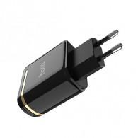 Адаптер 220V->2*USB 2.4A HOCO (C39A)