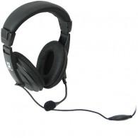Наушники Defender HN 750 с микрофоном, кабель 2м /20 (63750)