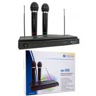 Микрофон Defender MIC-155 - 2 беспроводных микрофона 3,5+6,3 (64155)