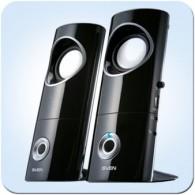Колонки SVEN 2.0 245 (4Вт) черный USB