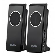 Колонки SVEN 2.0 314 (4Вт) черный USB
